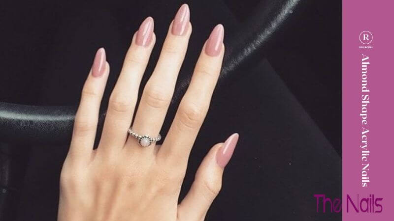 Almond Shape Acrylic Nails