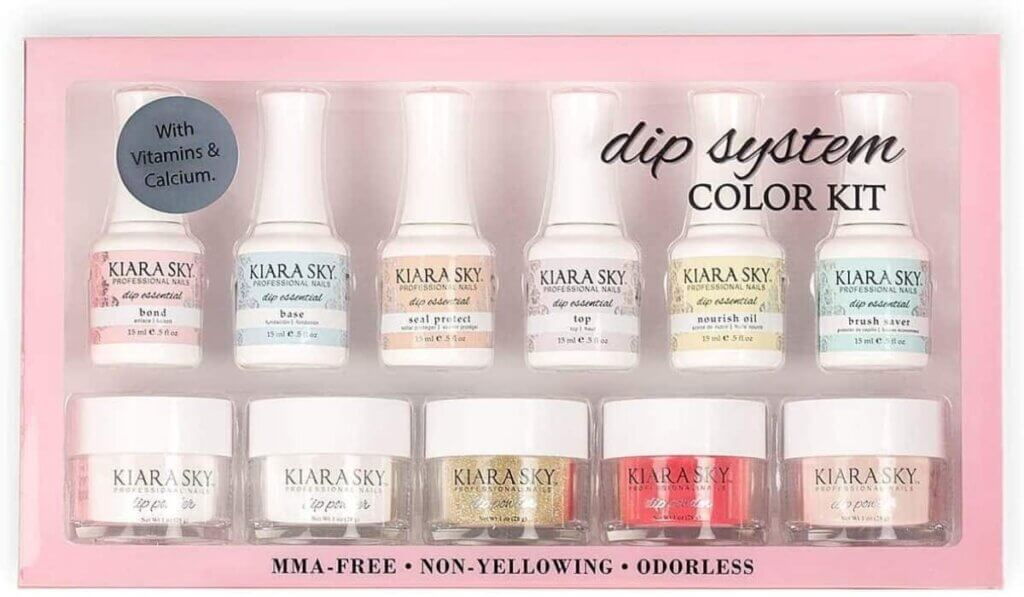 Kiara Sky Dipping Powders Essentials Kit