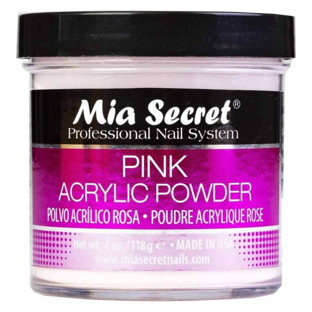 Mia Secret Pink Acrylic Powder 4 oz