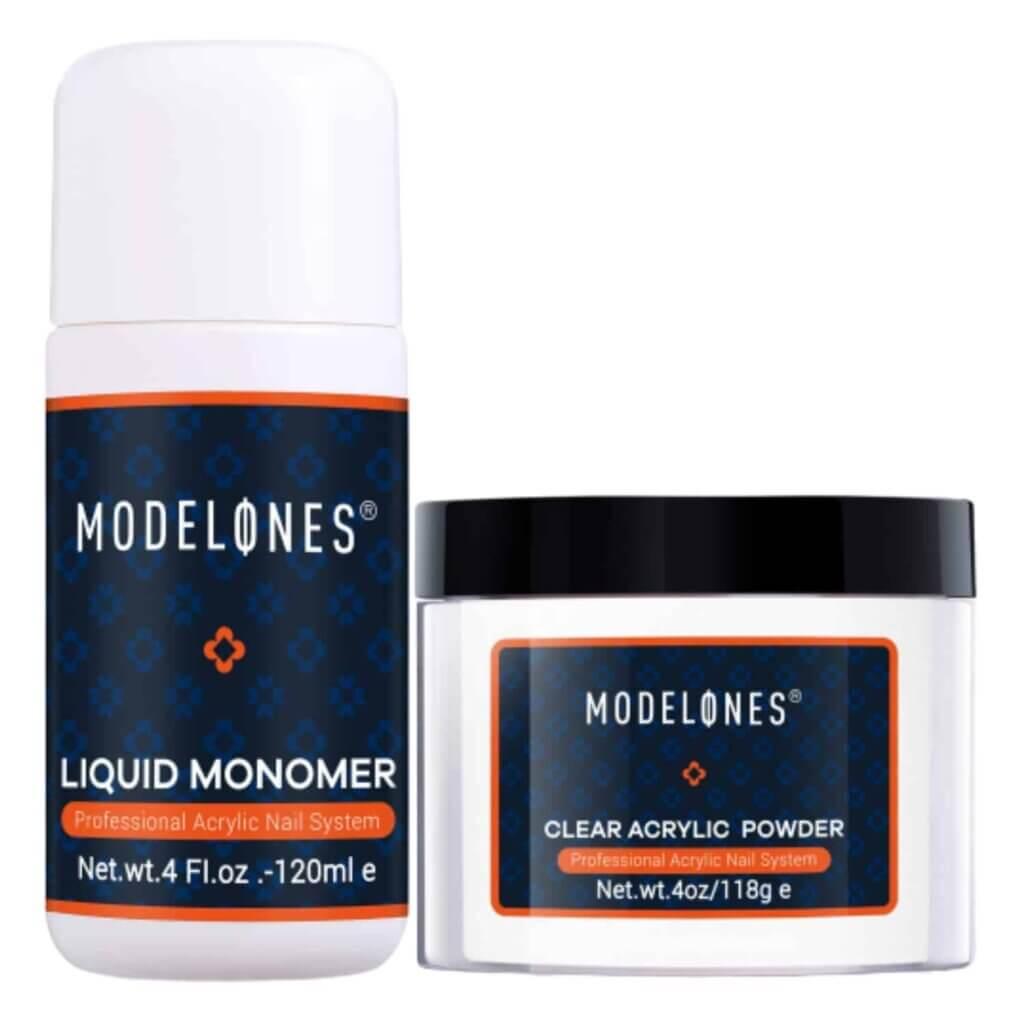 Modelones Clear Acrylic Powder Kit